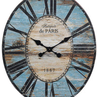 Wood & MDF Wall Clock,
