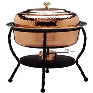 Copper Oval Chafing Dish