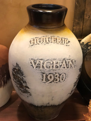 Red Label Textured Cream Vigean 1930 Jar 1940 Jar