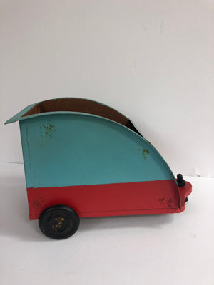 Tin Camper Container