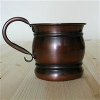 Old Style Antique Copper Mug