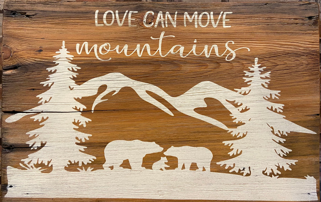 Love Can Move Mountains