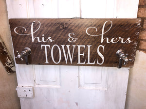 His and Her Towels
