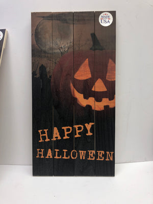 Happy Halloween Crate Sign