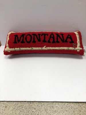 Montana Birch Red Lumbar Pillow