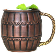 Cask Antique Copper Mug
