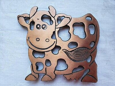 Copper Cow Trivet