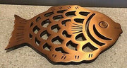 Copper Fish Trivet
