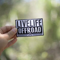 Live Life Off-road Decal