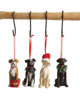 Resin Dog Ornament