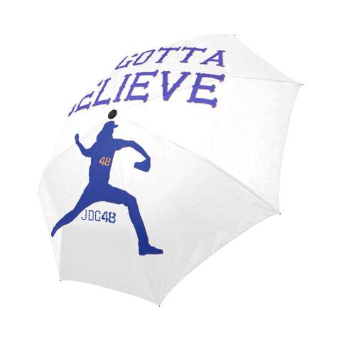 Ya gotta believe Auto-Foldable Umbrella