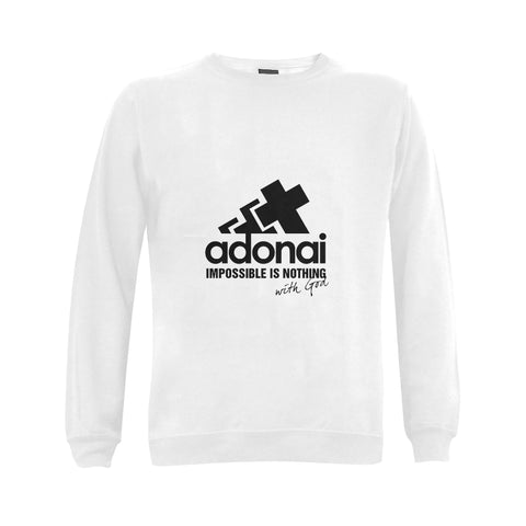 Adonai impossible is nothing .... Classic unisex Sweatshirt
