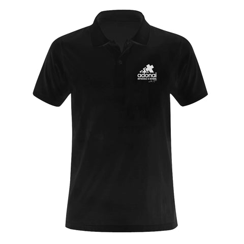 Adonai - impossible is nothing...Classic Men's Polo shirt