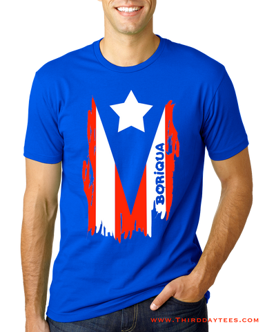 Boriqua flag shirt
