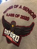 Oxford Blackhawks 2020 mother of a senior hoodie