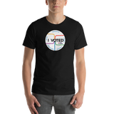I VOTED NYC sticker shirt
