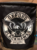Oxford Blackhawks vintage logo drawstring bag