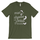 Mac and cheese light Unisex short sleeve t-shirt