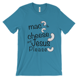 Mac and cheese Unisex short sleeve t-shirt