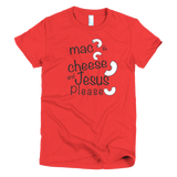 Mac and cheese Short sleeve women's t-shirt