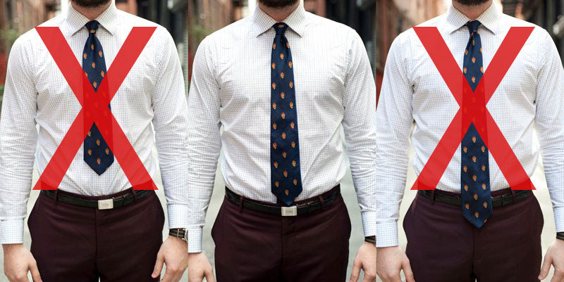 Proper Tie Length Short Guys