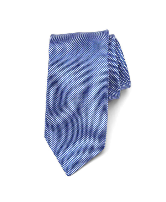 Royal Microcheck Silk Tie - Shorter Ties