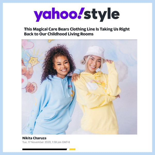 Featured on Yahoo Style!