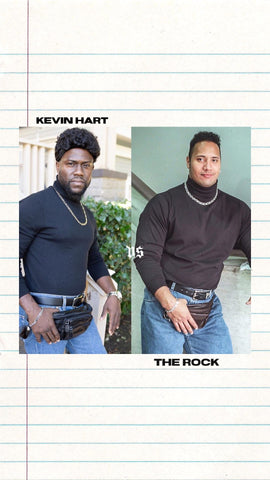 "Kevin The Rock VS Dwayne The Rock Johnson ~ Who was the better ""rock""?"