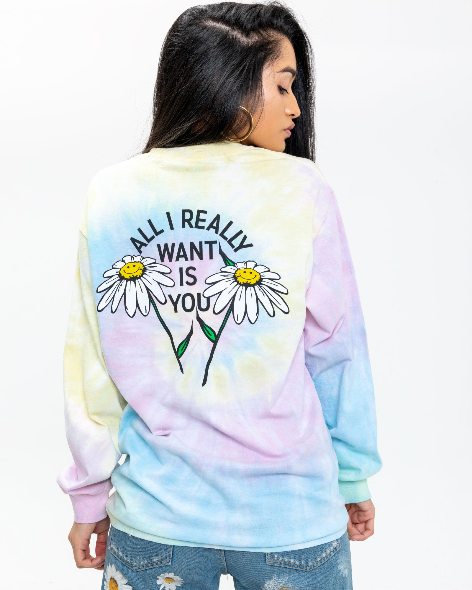 All I Want Tie-Dye Long Sleeve
