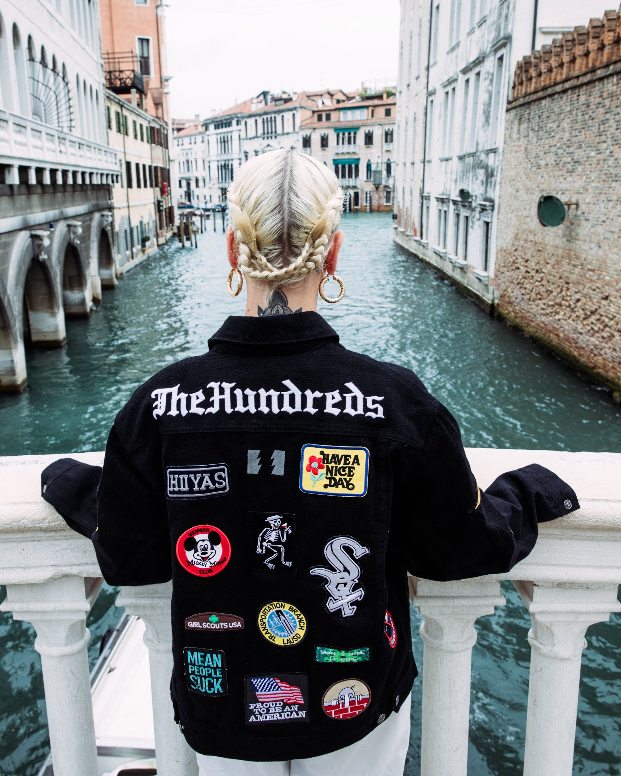 The Hundreds x By Samii Ryan Patch Set