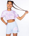 Try Again Tie Dye Crop Tee