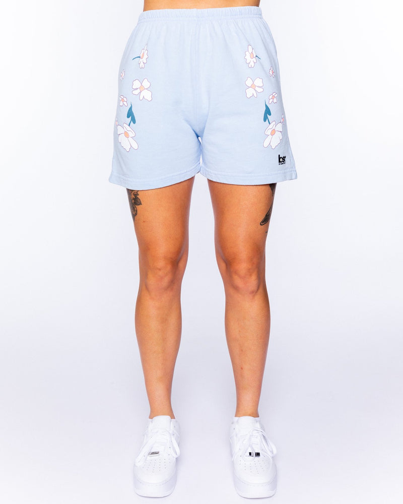 Felt Cute Blue Shorts Set