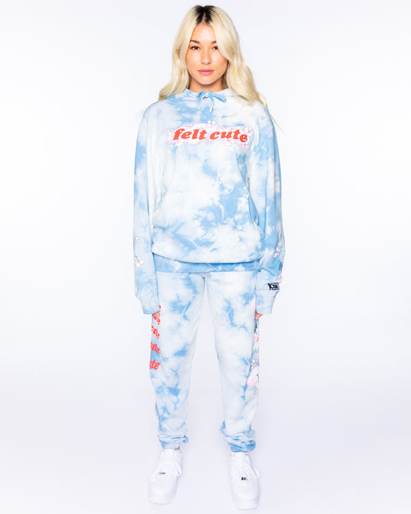Felt Cute Tie Dye Sweat Set