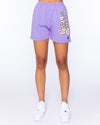 Lovely Violet Shorts Set