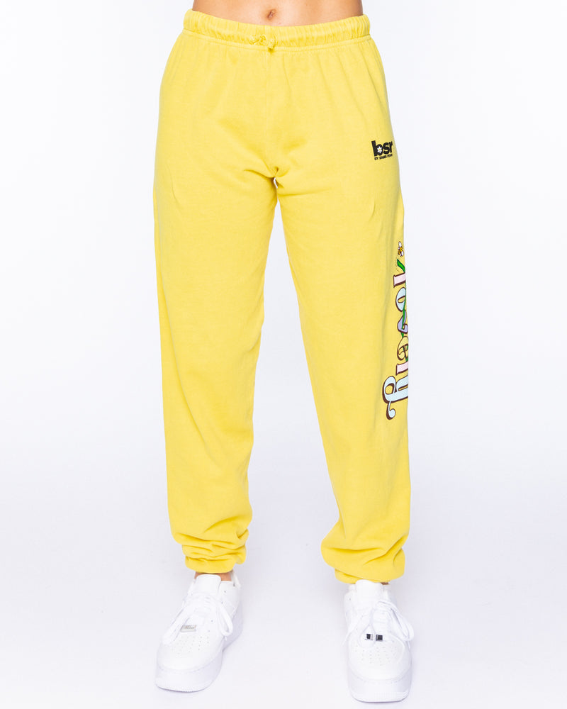 Lovely Yellow Sweatpants