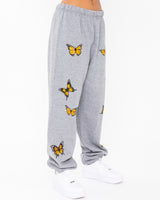 Head In The Clouds Grey Sweatpants