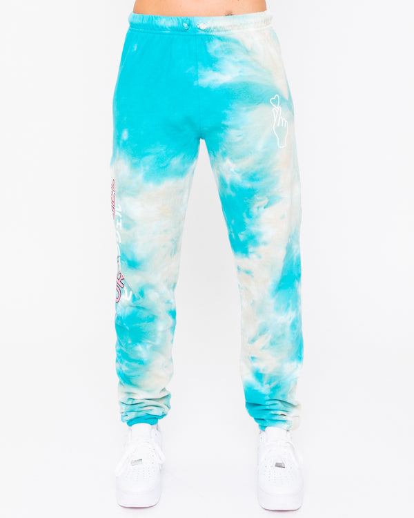 Pure Angel Cloud Tie Dye Sweatpants