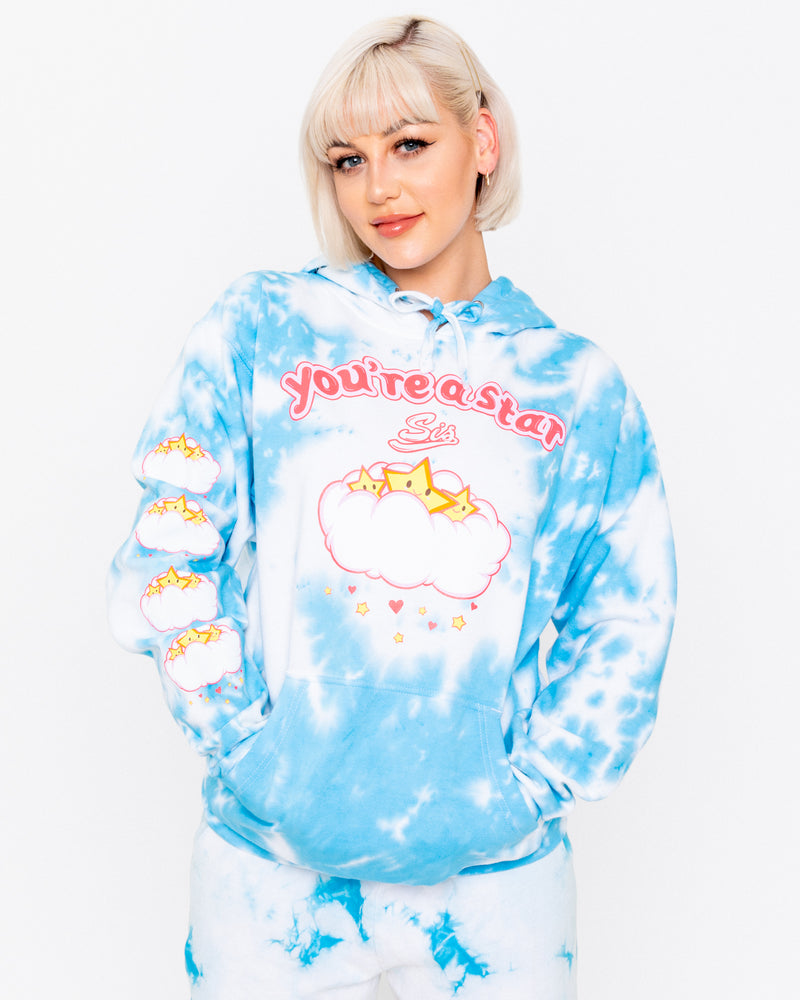 You're A Star Tie-Dye Hoodie