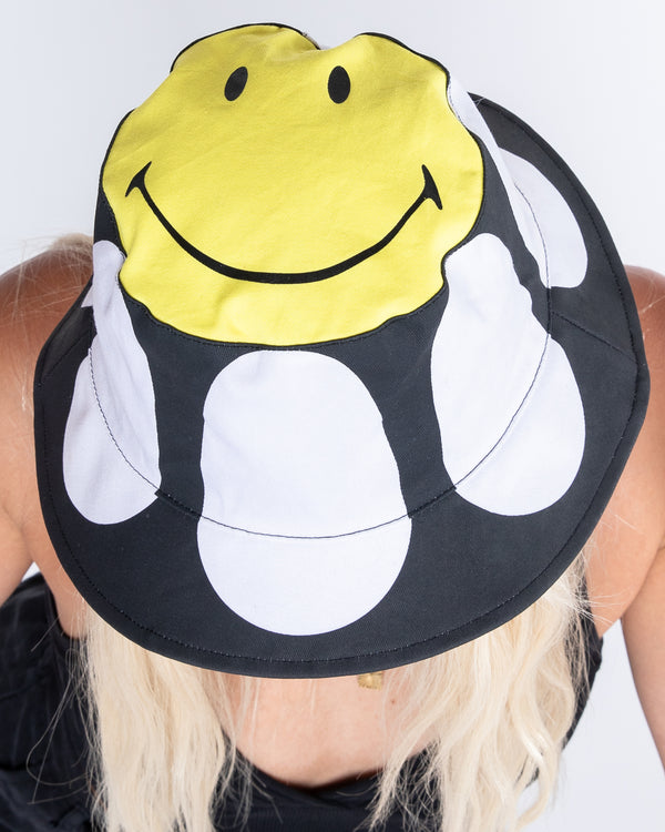 Smiley On Top Bucket Hat