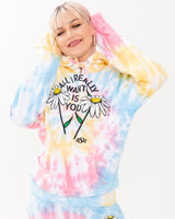 All I Want Tie Dye Hoodie