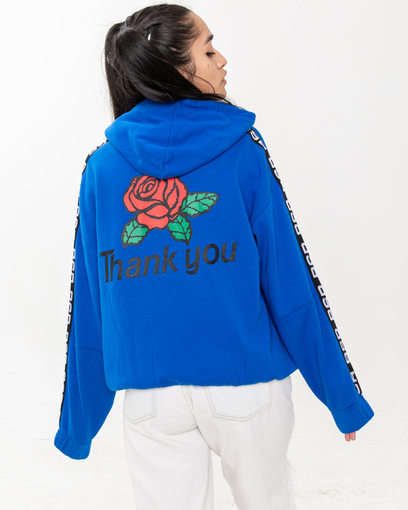 Know Ya Worth Royal Blue Hoodie