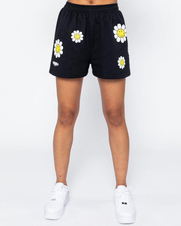Smiley One of Those Daze Shorts, Black