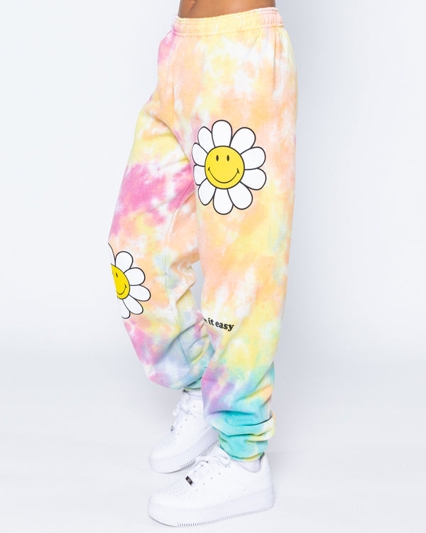 Take It Easy Tie-Dye Sweatpants, Multi