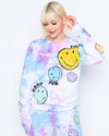 Smiley Good For You Crewneck, Multi