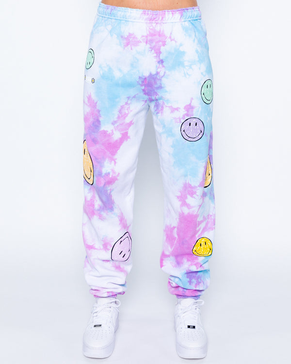 Smiley Good For You Sweatpants, Multi