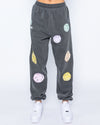 Smiley Good For You Sweatpants, Black