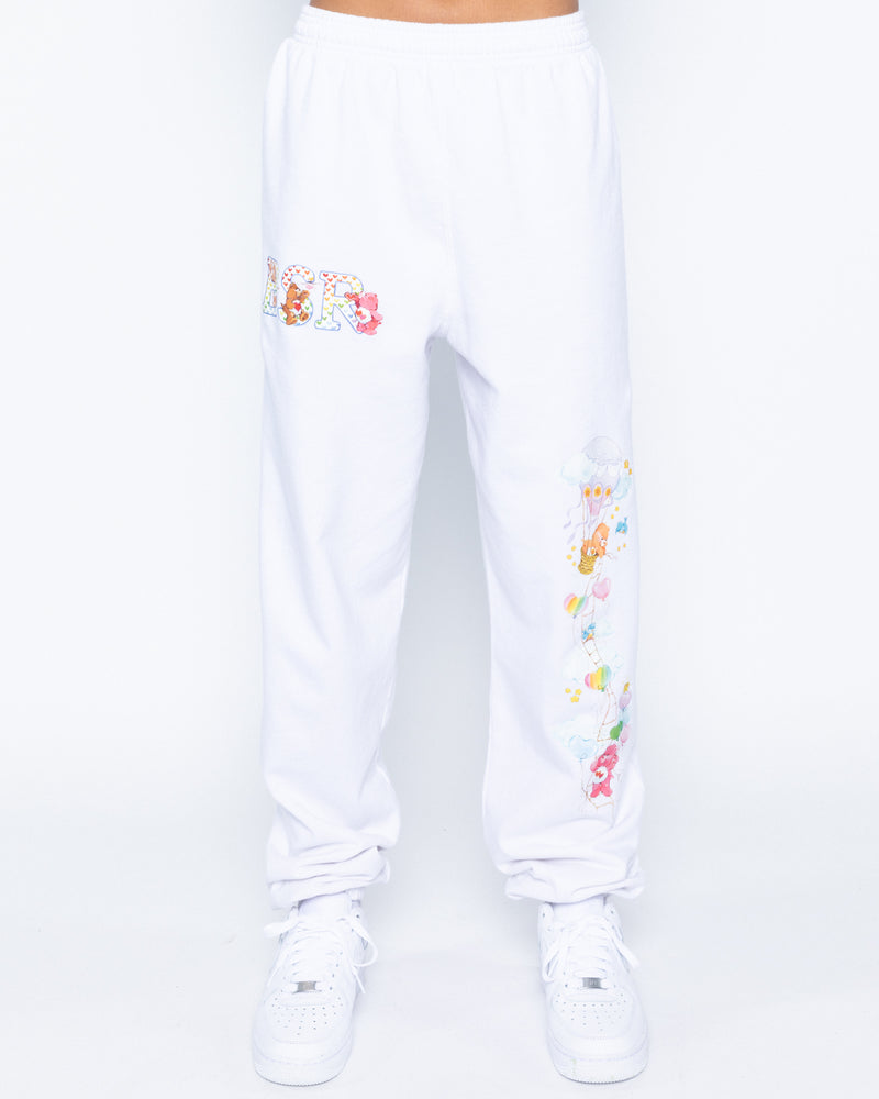 Love In The Air White Sweatpants