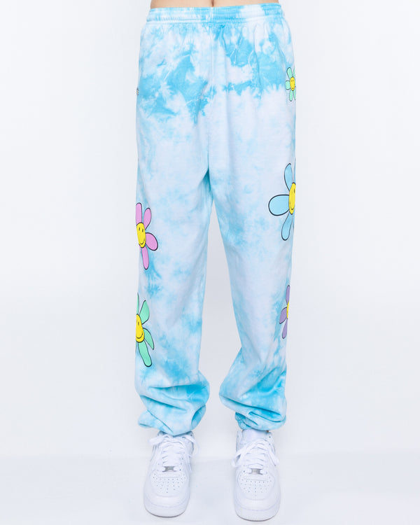 Lil Thang Tie-Dye Sweatpants, Blue