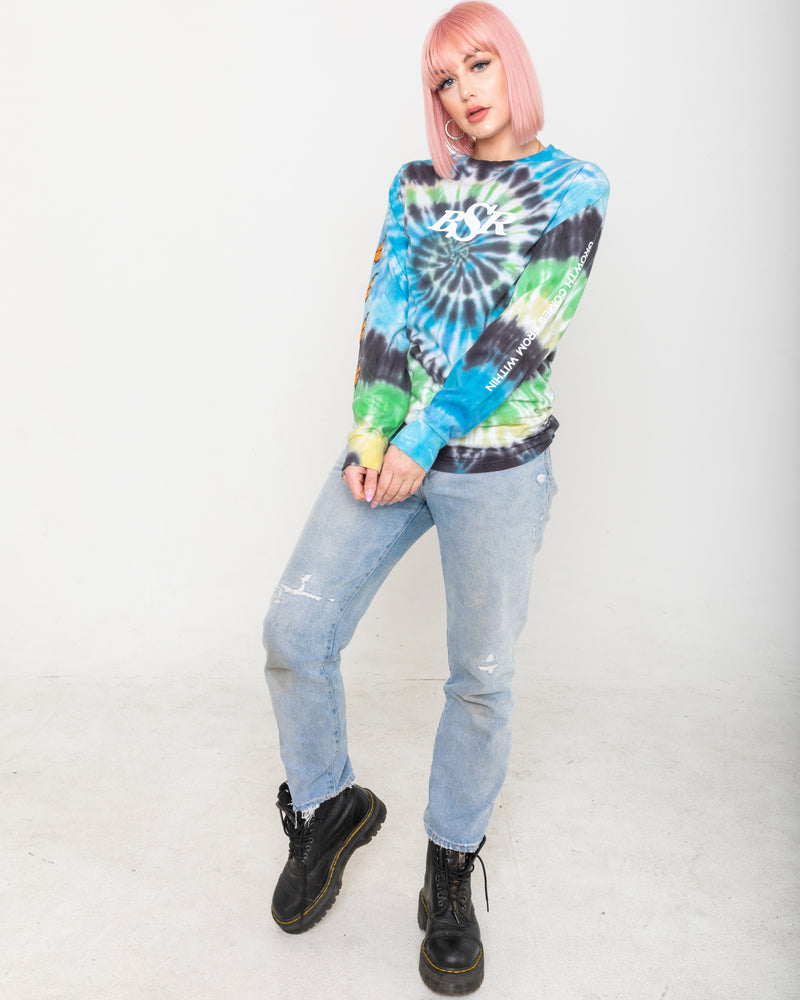 Growth Tie Dye Long Sleeve