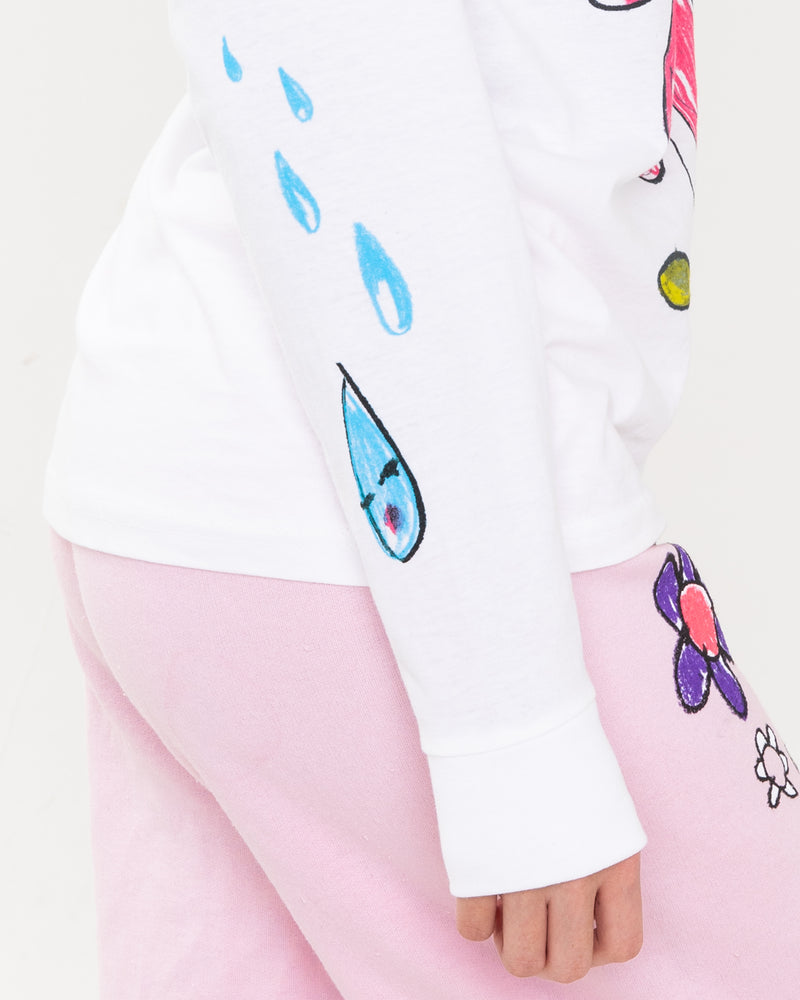 Fairy Lullaby White Long Sleeve